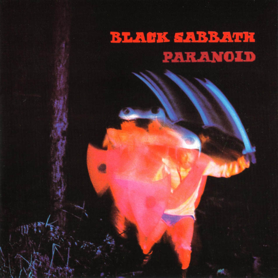 Image result for paranoid album cover
