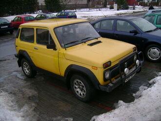 Lada Niva 4x4 (Czech Republic)