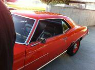 1968 Orange camaro