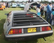 Delorean rear view 2