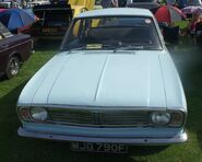 Ford Cortina Mk2 sky blue
