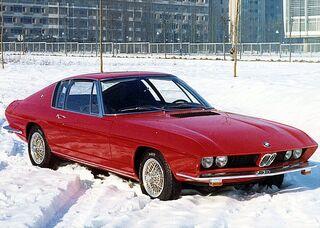 BMW 2000 TI Frua