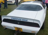 White Transam rear 2