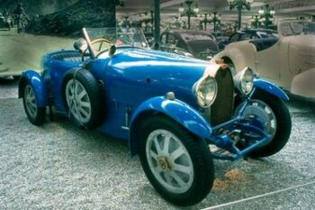 Bugatti Type 43 Grand Sport, Chassis 43206, WM