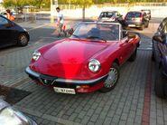 Alfa Romeo at Supermarket