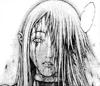 Guerriera sconosciuta della squadra di Jean ridotta in fin di vita da Duff volto manga