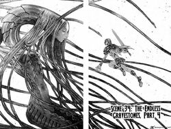 Claymore Chapter 34 Cover