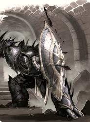 Mordun defending construct
