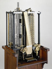Analytical engine punched card