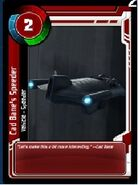 Red crad bane 's speeder