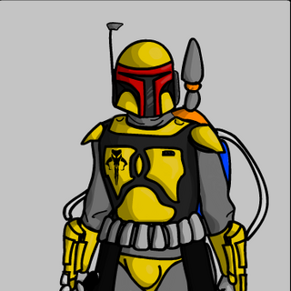 A'den's Beskar'gam worn during The Mandalorian Civil War and as a member of the Cuy'vul Dar unti lbeing lost on Carlac