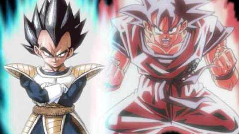 Goku vs vegeta theme