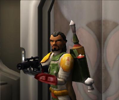 Commander Shox Character 66