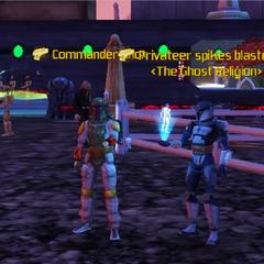Commander Shox & spikes blaster