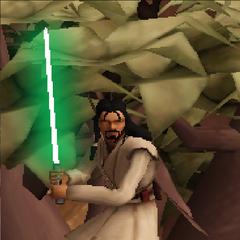 Commander Shox as a Jedi