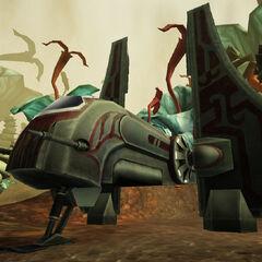 A'den's Aka'jor shuttle, Destiny on Felucia