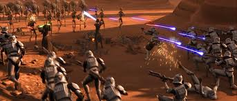 Ground battle of geonosis