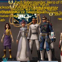 Kala and Racer's wedding. Aftermath