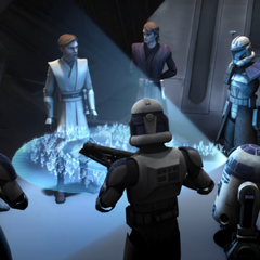 briefing before the Battle of Umbara