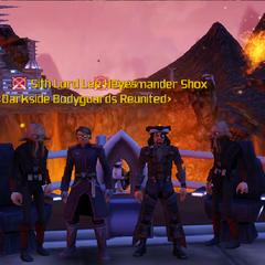 Commander Shox & Lee Heyes