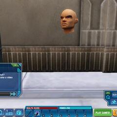 Creepy floating head *o_o