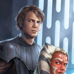 Real looking Anakin and Ahsoka (look like movie actor)