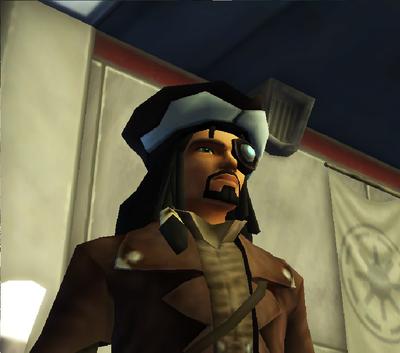 Commander Shox Character 102