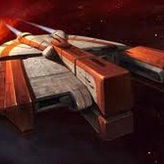 Ebon Hawk, Revan's ship and now A'den's
