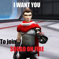 Me and Cheese want YOU to join SQUAD ON FIRE!