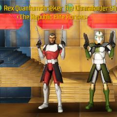 Commander Shox & Rex Quantumshrieker