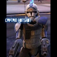 Captain Hotshot edited on PiZap.com