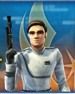 Luke in squad Uniform