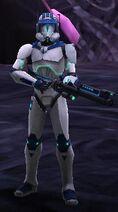 Orion in Shadow Tech Gear