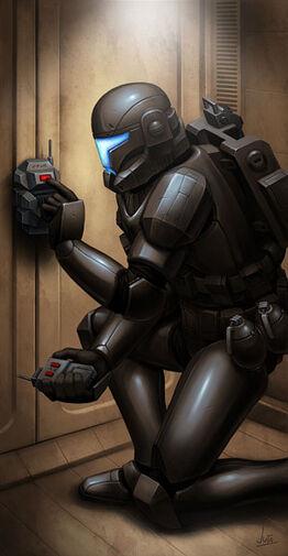 Black ops Clone commando TCWCG