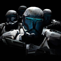 Squad on Clone Troops