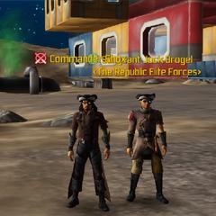 Commander Shox & Jock Brogel