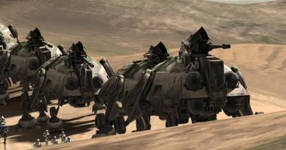 Republic Dune Sea convoy