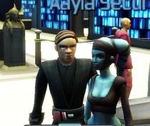 Luke and Aayla