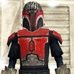 Malek's seventh armor. (20 BBY)