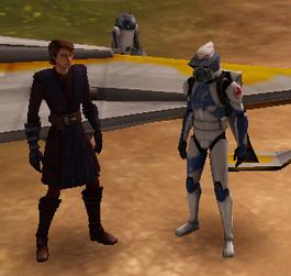 Anakin, R2 And Aman