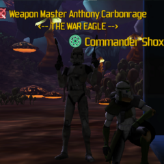 Commander Shox & Anthony Carbonrage