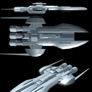 My personal Stealth ship, used when I must get through a blockade or land undetected