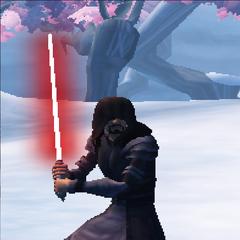 Commander Shox as a Sith