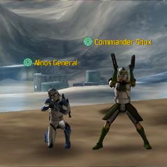 Commander Shox & Alinos General