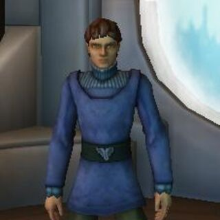 <b>Naboo Upper-class Clothing</b>: This was worn by Jacius during his time living on Naboo. It was very expensive clothing.
