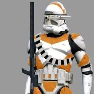 Keneu Deltaweld in his Clone Trooper Sniper gear