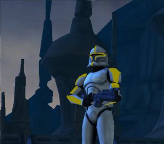 Commander Shox Character 112