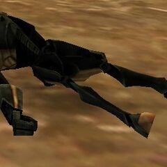 A'den is sent to destroy the experimental B2 Assault droid