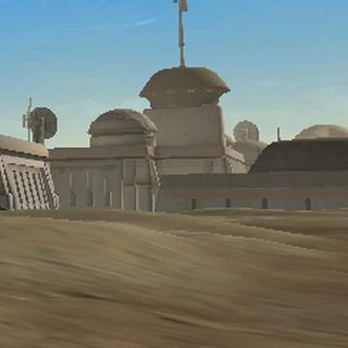 The Tatooine city