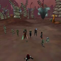 On February 8. 2014, Larcon Legion had a Combat Event on Felucia!
